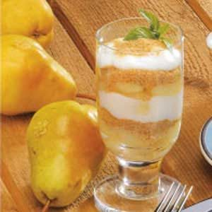 Pear Parfaits