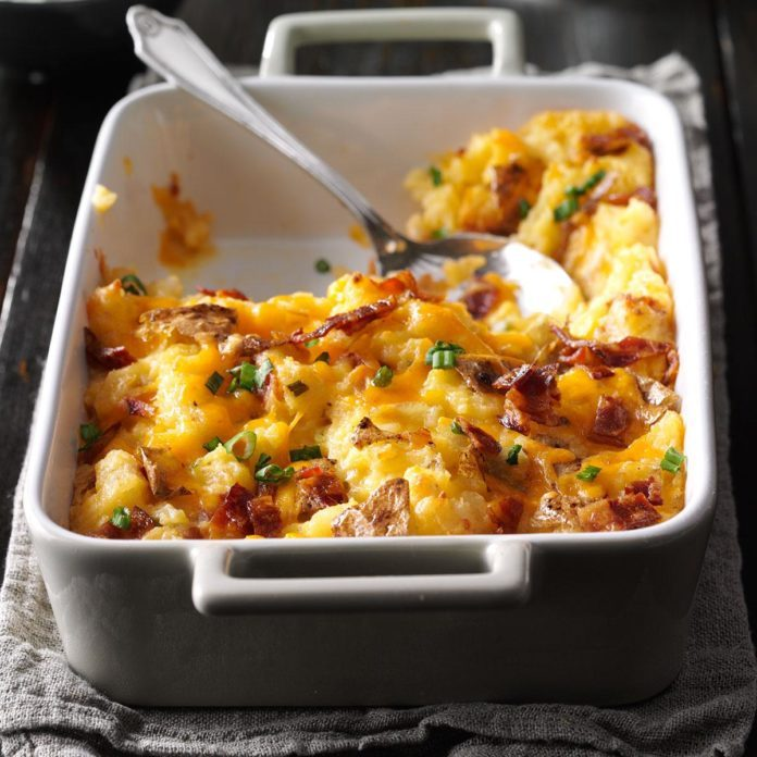 Day 6: Loaded Twice-Baked Potato Casserole