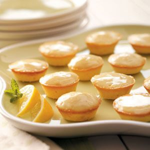 Moist Lemon Tea Cakes