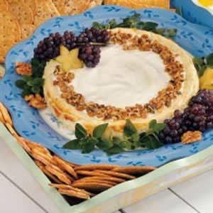 Blue Cheese Walnut Cheesecake