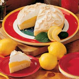 Rich Lemon Meringue Cake