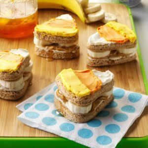 Cute Halloween Sandwiches