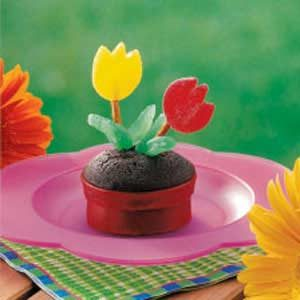Flowerpot Cupcakes