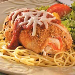 Crab-Stuffed Chicken