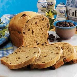Coffee Raisin Bread