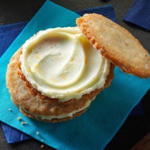 Walnut Sandwich Cookies