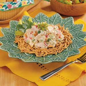 Chow Mein Tuna Salad
