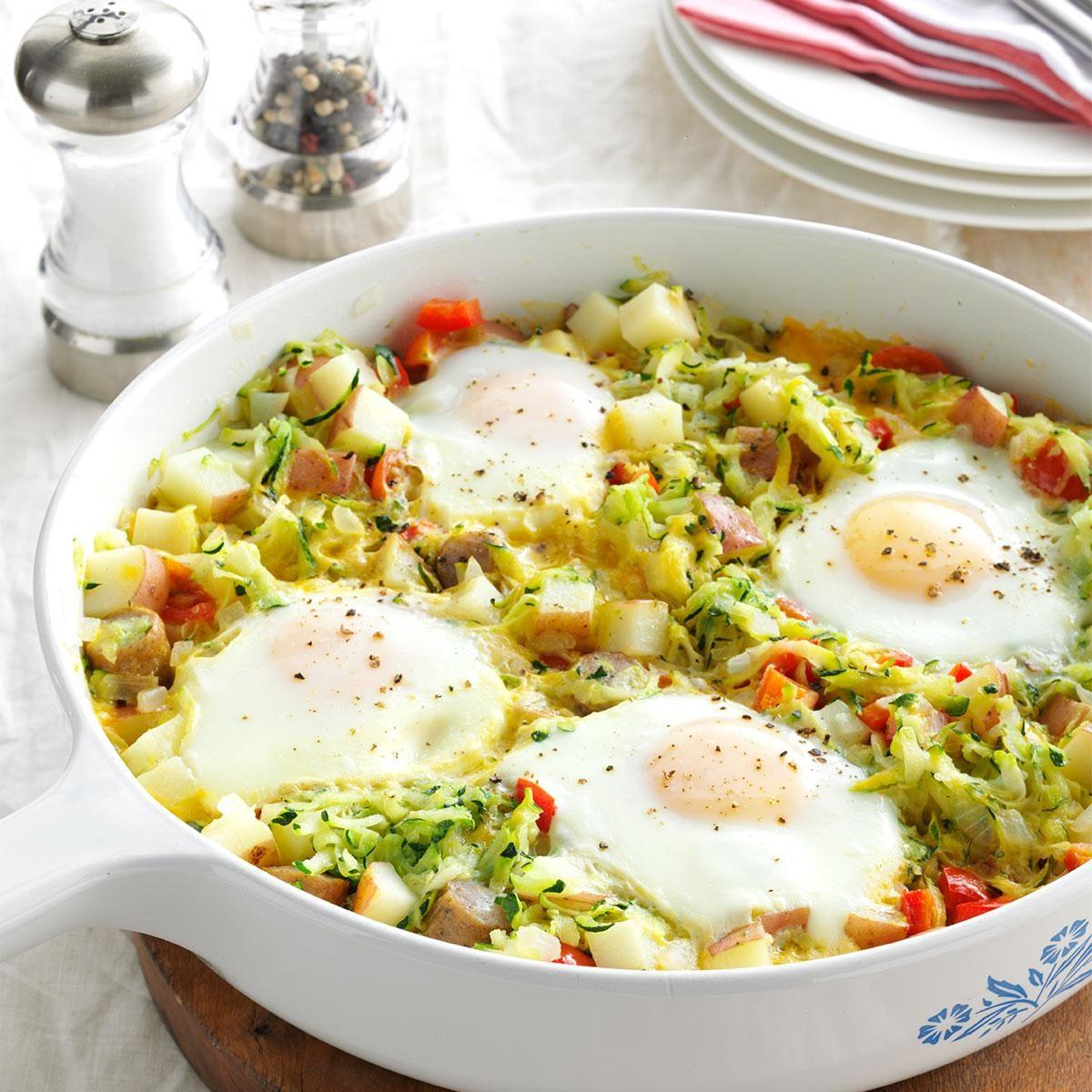Zucchini Egg Skillet Recipe