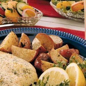 Lemon Roasted Red Potatoes