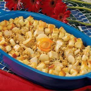 Turkey Wild Rice Dish