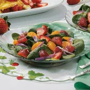 Strawberry-Orange Spinach Salad