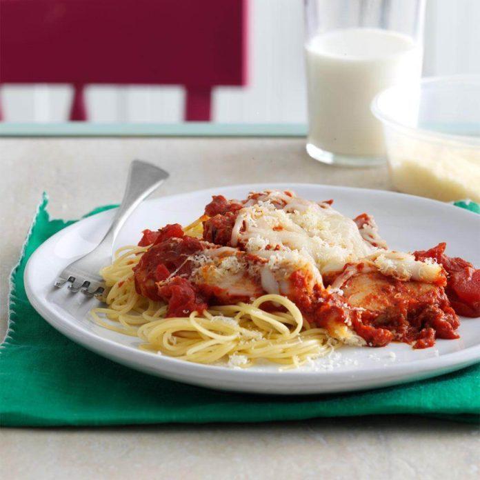 Inspired by: Olive Garden's Chicken Parmigiana
