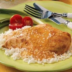 Sesame Chicken Breasts