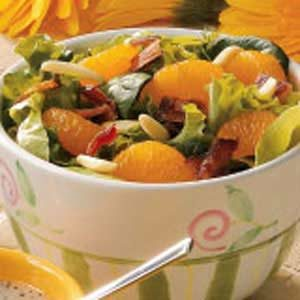 Tossed Salad with Oranges