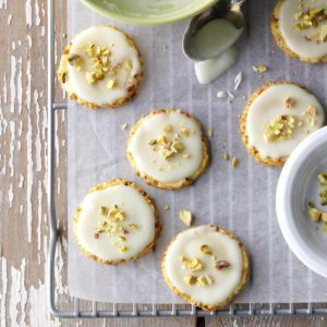 Orange Pistachio Cookies