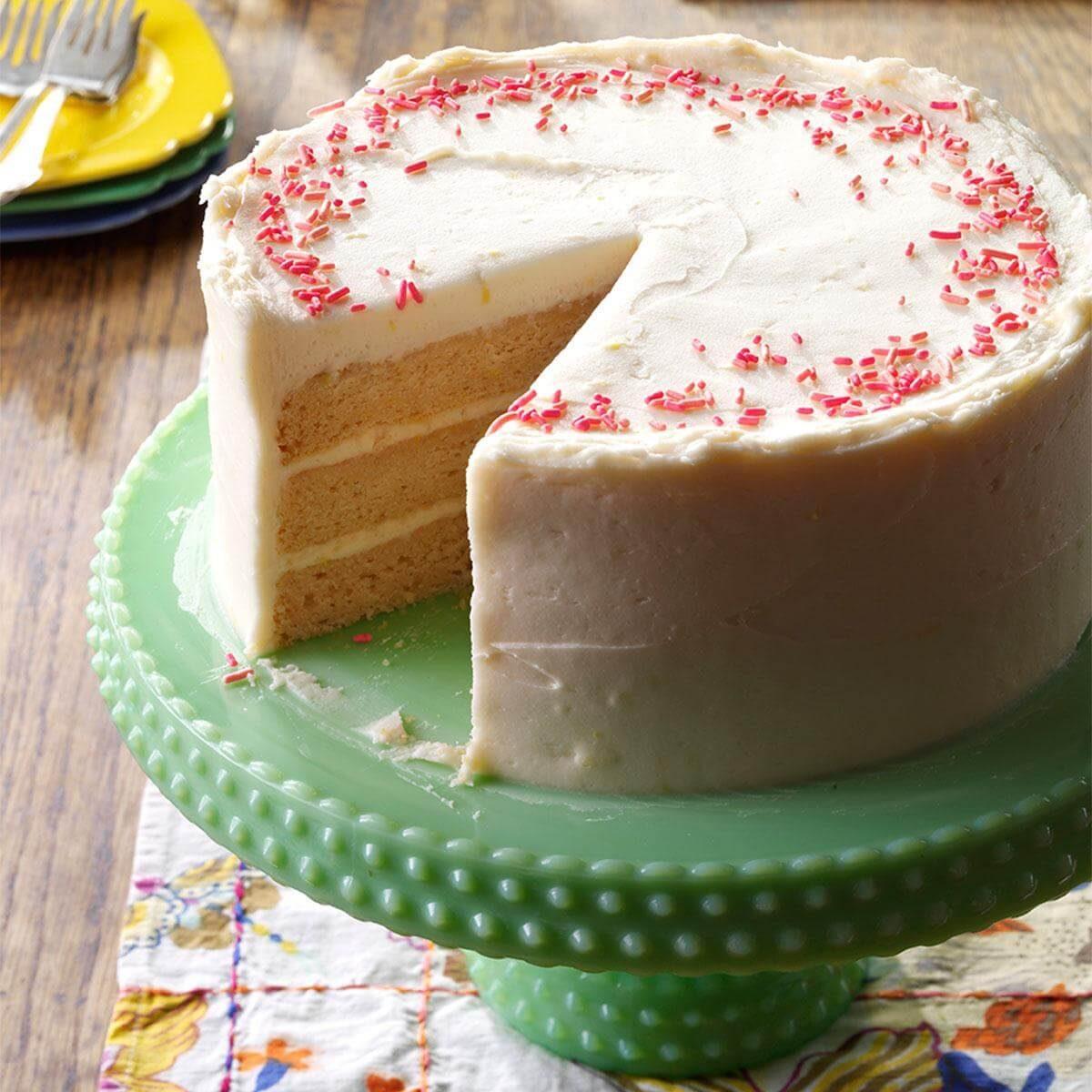 Pink Lemonade Stand Cake Recipe Taste Of Home