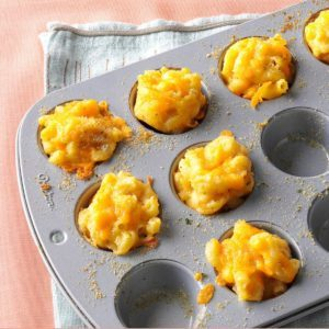 Mini Mac & Cheese Bites