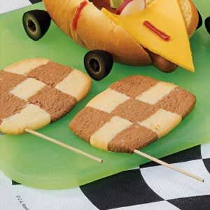 Checkered Flag Cookies