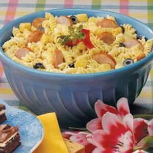 Kielbasa Pasta Salad
