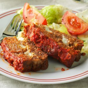 String Cheese Meat Loaf