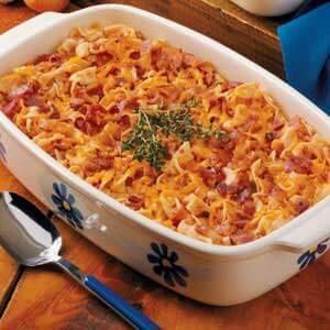 Bacon Tomato Casserole