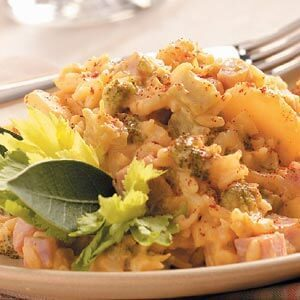 Slow-Cooked Ham 'n' Broccoli