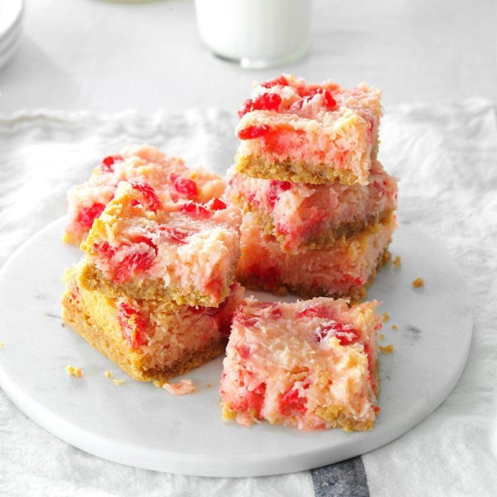 Cherry Coconut Treats