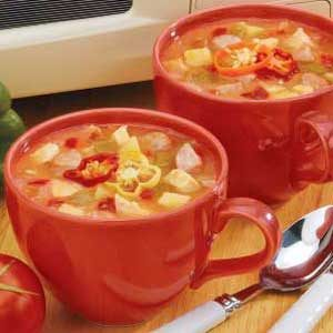 Sausage Chicken Soup