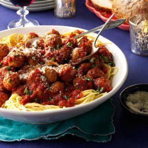 My Best Spaghetti & Meatballs