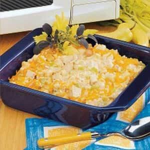 Turkey Rice Casserole