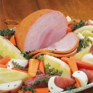 Boiled Ham Dinner