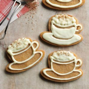 White Chocolate-Cappuccino Cookies