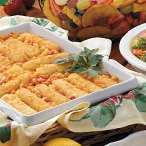 Spanish corn with fish sticks taste of home spanish corn with fish sticks recipe photo by taste of home forumfinder Choice Image