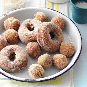 How to Make Apple Cider Doughnuts