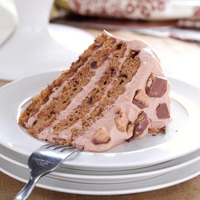 Ohio: Tiramisu Toffee Torte