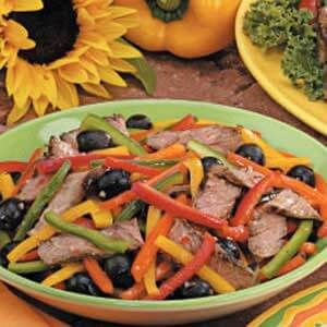 Pepper Steak Salad
