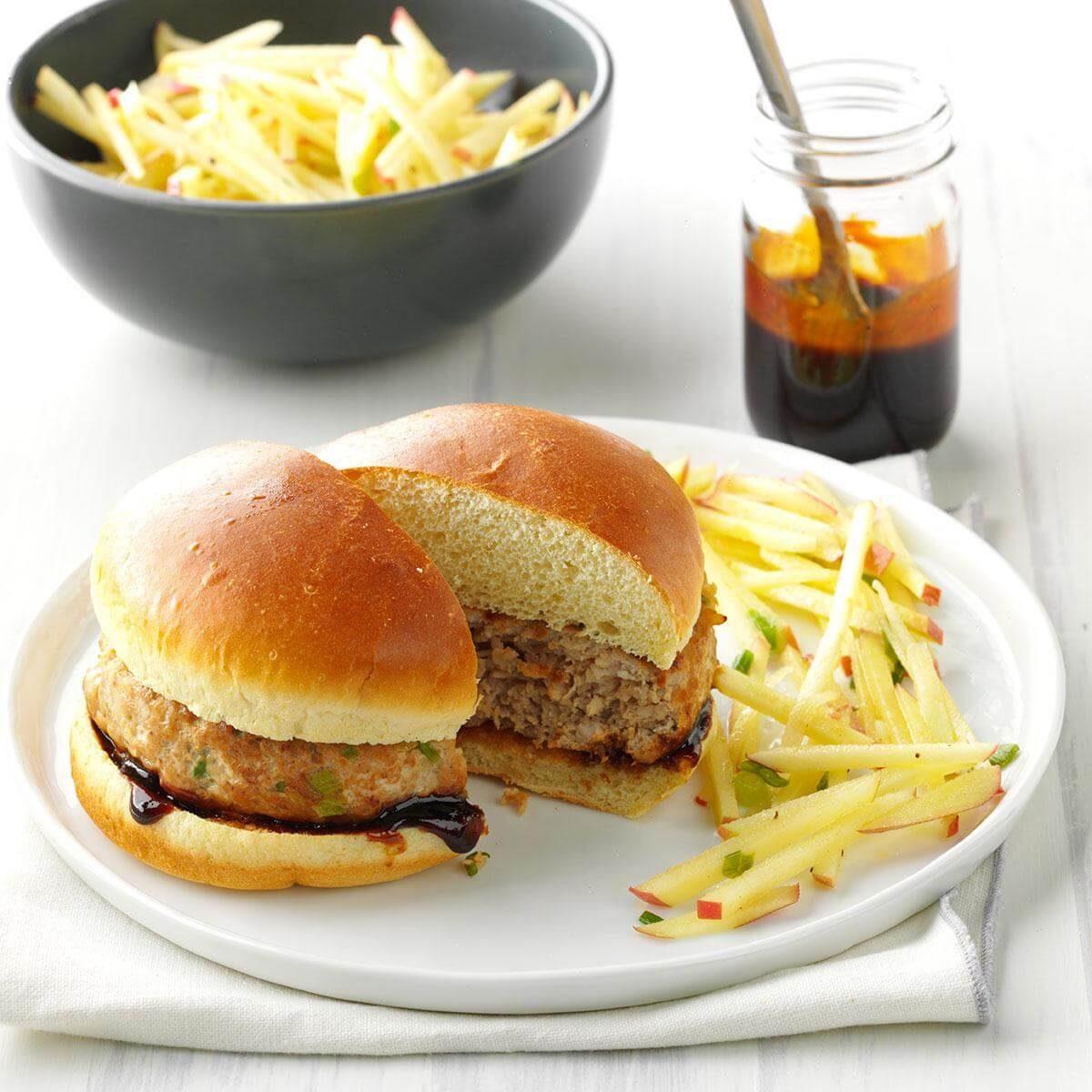 Test Kitchen Turkey Burger