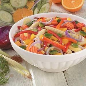 Simple Marinated Vegetables