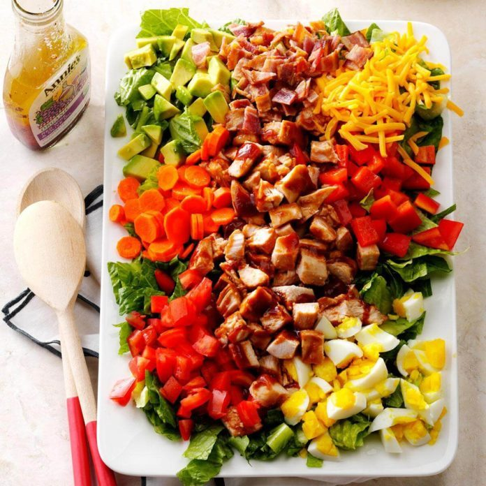 Inspired by: BBQ Chicken Salad