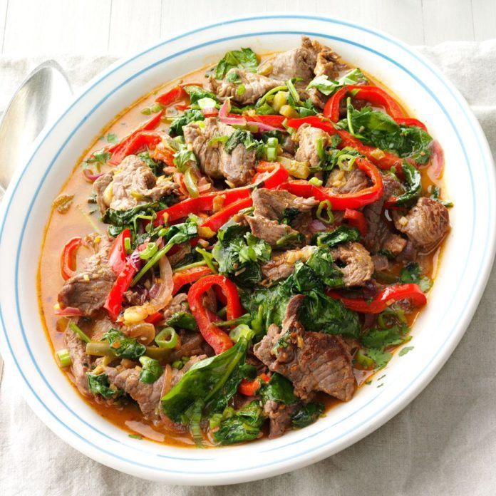Inspired by: Beijing Beef