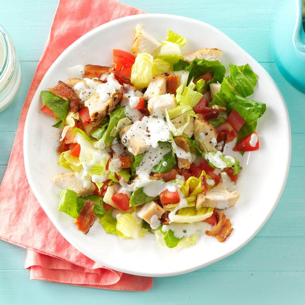 Bacon Chicken Chopped Salad Recipe