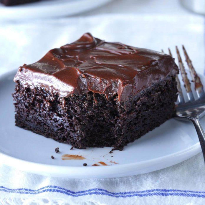 recipe for chocolate zucchini cake
