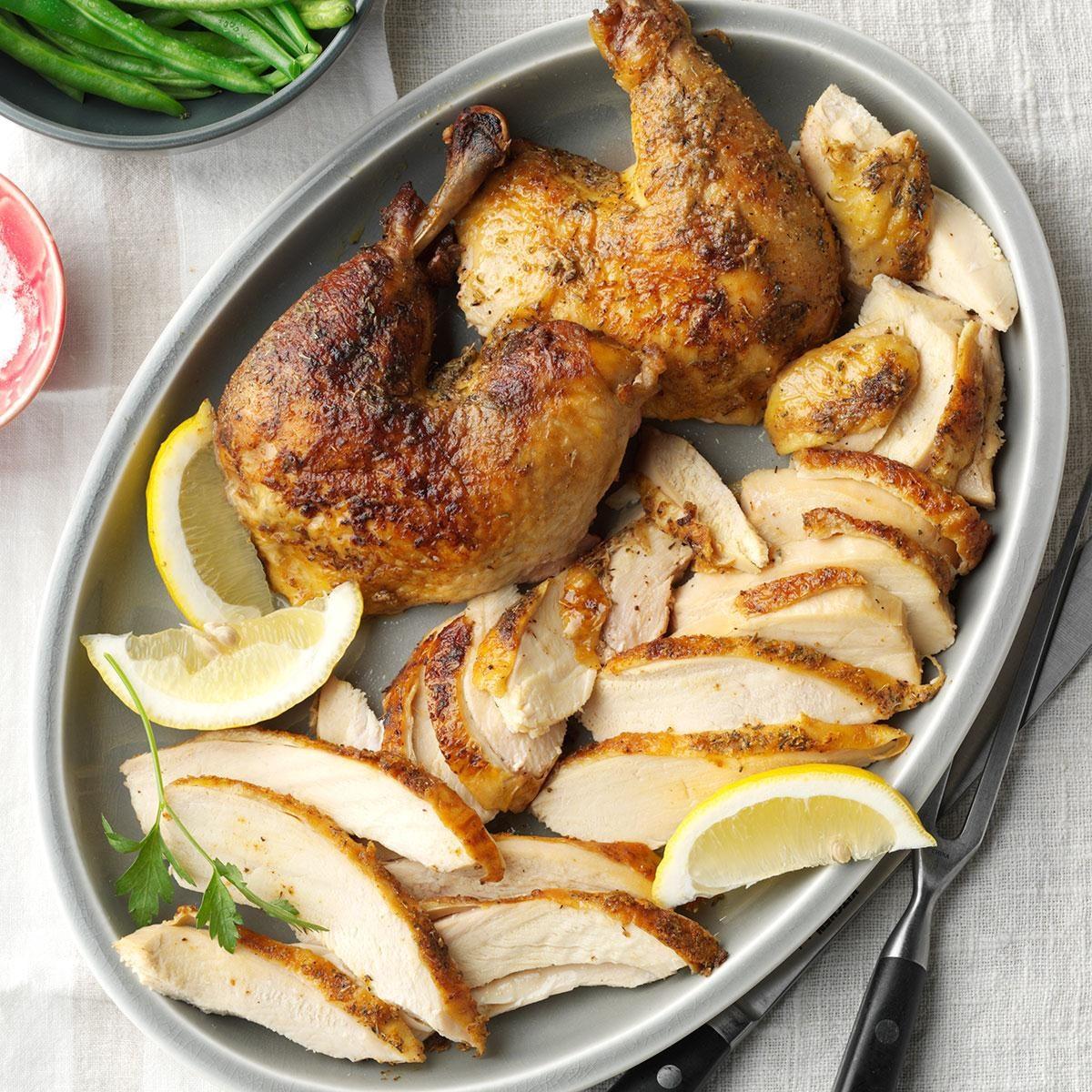 Roast Spiced Chicken Recipe