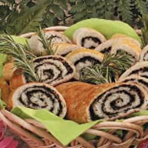 Olive Pinwheel Bread