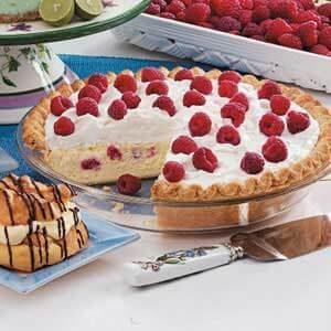 Raspberry Cheesecake Pie