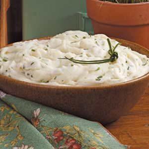 Creamy Chive Mashed Potatoes