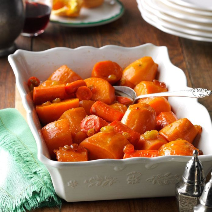 Sweet Potato & Carrot Casserole