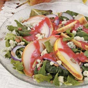 Warm Pear Salad