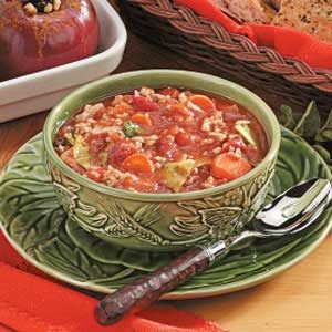 Turkey Cabbage Stew