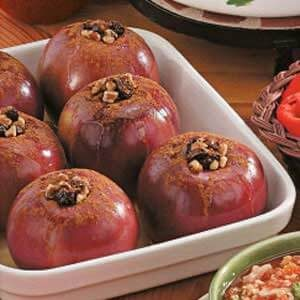 Raisin-Nut Baked Apples